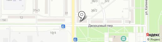 Ксения на карте Комсомольска-на-Амуре