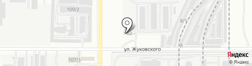 Кузнецкий мост на карте Комсомольска-на-Амуре