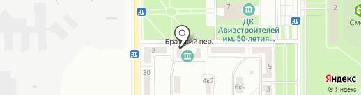 Анна на карте Комсомольска-на-Амуре