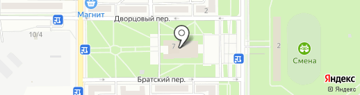 Шокко на карте Комсомольска-на-Амуре