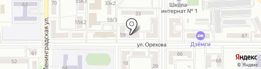 УФМС на карте Комсомольска-на-Амуре