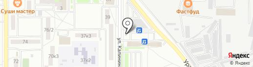 Банкомат, Сбербанк России на карте Комсомольска-на-Амуре