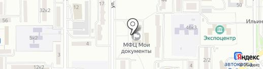 Многофункциональный центр для бизнеса на карте Комсомольска-на-Амуре
