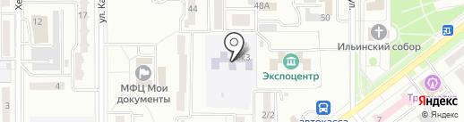 Детский сад №57, Звоночек на карте Комсомольска-на-Амуре