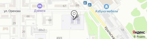 Детский сад №7 на карте Комсомольска-на-Амуре