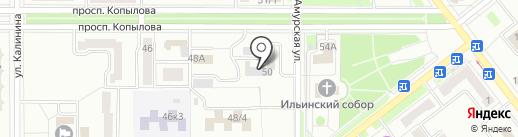 ОРЛЁНОК на карте Комсомольска-на-Амуре