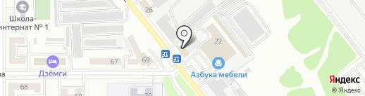 Служба безопасности на карте Комсомольска-на-Амуре