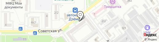 МТС-банк, ПАО на карте Комсомольска-на-Амуре
