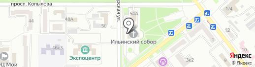 Амурская Епархия Русской Православной Церкви на карте Комсомольска-на-Амуре