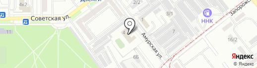 Центр утилизации техники и оборудования на карте Комсомольска-на-Амуре