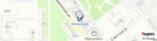 Светофор на карте Комсомольска-на-Амуре
