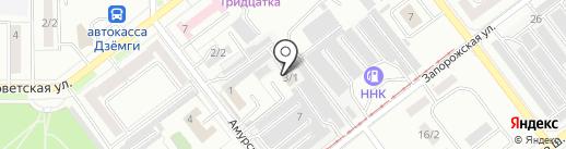 Светлый на карте Комсомольска-на-Амуре