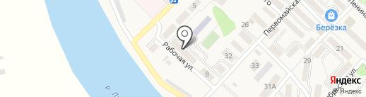 Анивский на карте Анивы