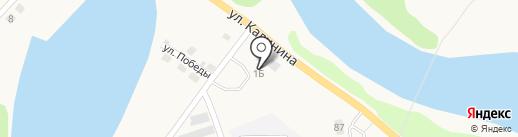 АЗС Меркурий на карте Анивы