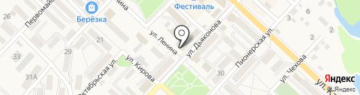 Почтовое отделение на карте Анивы