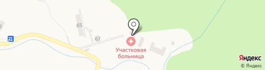 Синегорская участковая больница на карте Синегорска