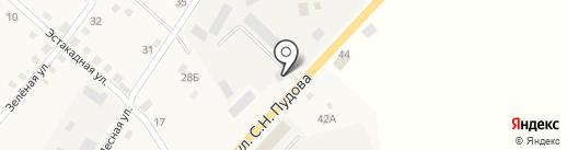 Абама на карте Анивы