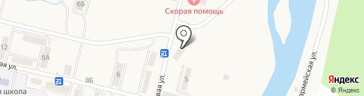 Почтовое отделение связи на карте Быкова