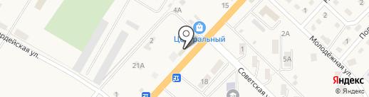 Булочная на карте Троицкого
