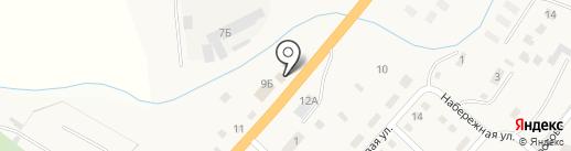 Звезда на карте Троицкого