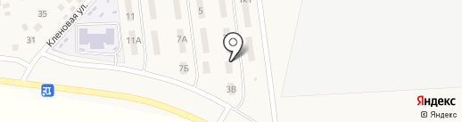Индикатор на карте Троицкого