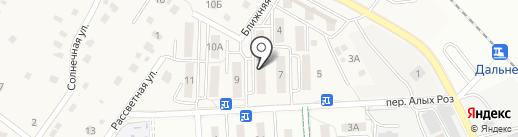 Отдел по управлению с. Дальнее на карте Дальнего