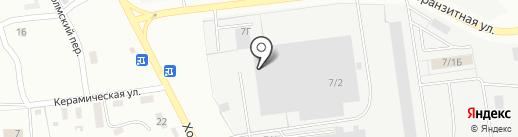 Фирма ИНИ на карте Южно-Сахалинска