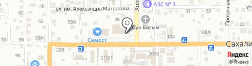Candy Rose на карте Южно-Сахалинска