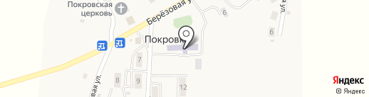 Средняя общеобразовательная школа на карте Покровки