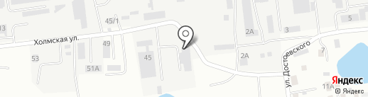 Интэкс-М на карте Южно-Сахалинска