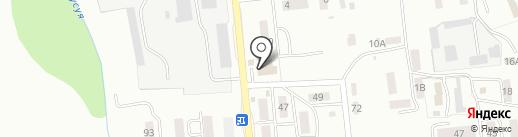 Банкомат, Россельхозбанк на карте Южно-Сахалинска