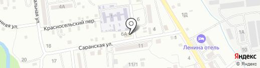 Азия Мix на карте Южно-Сахалинска