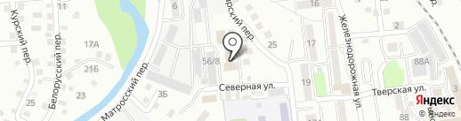 ГК Партнер на карте Южно-Сахалинска