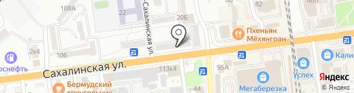 Фото Плюс на карте Южно-Сахалинска