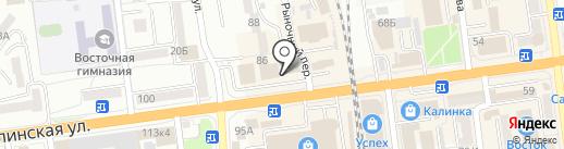 ShaurМания на карте Южно-Сахалинска