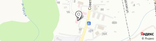 Сахалинский областной наркологический диспансер на карте Южно-Сахалинска