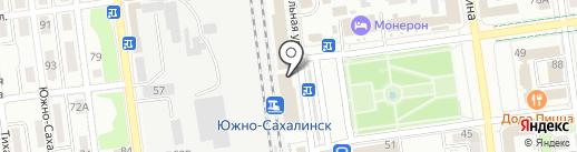 СтройОПТ Дальний Восток на карте Южно-Сахалинска