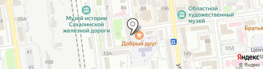 Адвокатский кабинет Алексеева О.В. на карте Южно-Сахалинска