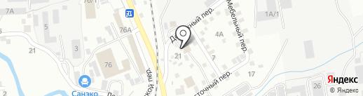 Агростройсервис на карте Южно-Сахалинска
