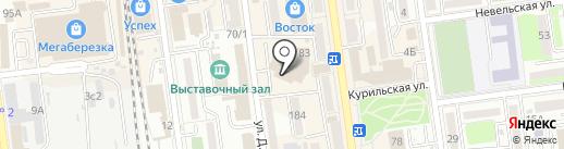 Подари-КА на карте Южно-Сахалинска