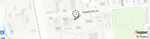 Алюм-групп на карте Южно-Сахалинска