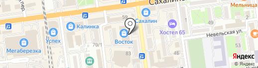 Спецодежда-центр на карте Южно-Сахалинска