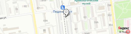 Автомастер на карте Южно-Сахалинска