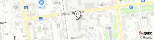 Deluxe на карте Южно-Сахалинска