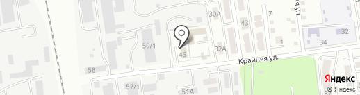 Магазин разливного пива на карте Южно-Сахалинска