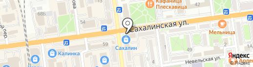 Маст-Хэв на карте Южно-Сахалинска