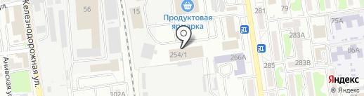 Мебель Микс на карте Южно-Сахалинска