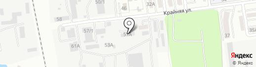 Ангел на карте Южно-Сахалинска