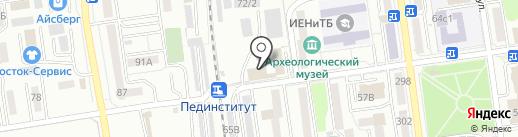 Премьер на карте Южно-Сахалинска