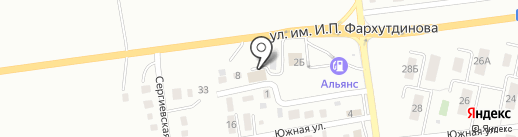 Кураж на карте Южно-Сахалинска
